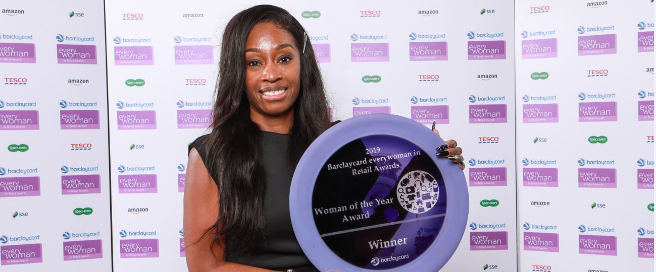 Alice Boaten, everywoman in Retail Woman of the Year 2019