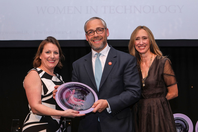 Everywoman award winners on how to be a male ally