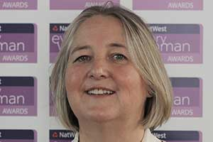 Clare Harris NatWest everywoman Award winner