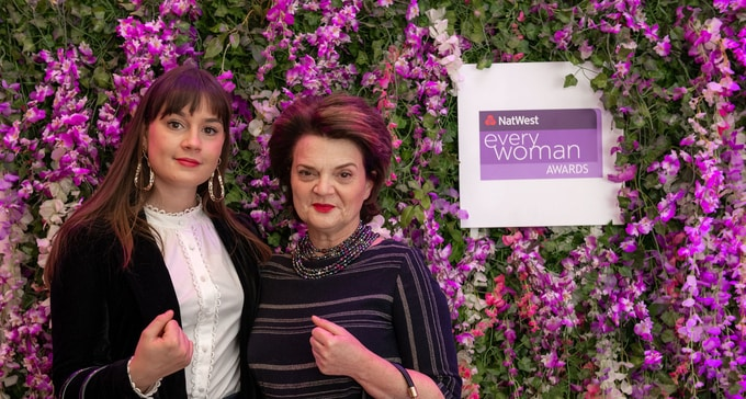 Lulu Guiness at the NatWest everywoman Awards