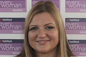 Grace Lachowicz, a NatWest everywoman Award winner