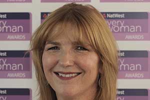 Helen Lord NatWest everywoman Award winner