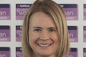 Hillary Graves NatWest everywoman Award winner