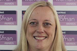 Joanne Bass NatWest everywoman Award winner