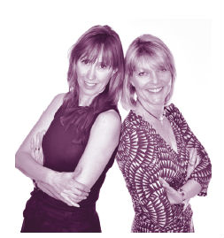 Karen Gill and Maxine Benson, everywoman founders