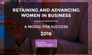 Retaining and advancing women in business white paper