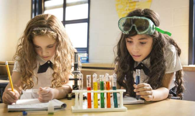 girls science modern muse empower