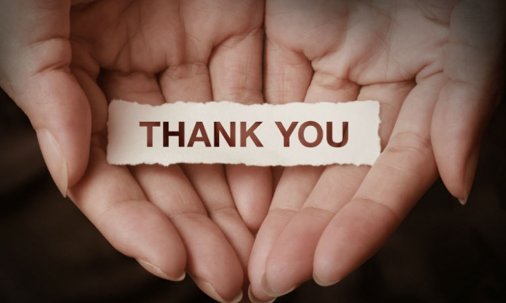 gratitude thank you wellbeing