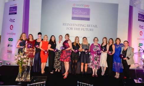 Winners of the 2017 Worldpay everywoman in Retail Ambassadors awards
