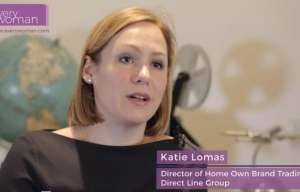 Katie Lomas networking ambassador diversity leadership women direct line