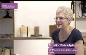 Monika Biddulph ARM Networking evreywoman Role Models