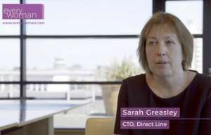 Sarah Greasley CTO Direct Line everywoman Role Models