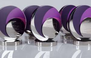 Trophies for the everywoman Transport and Logistics Awards