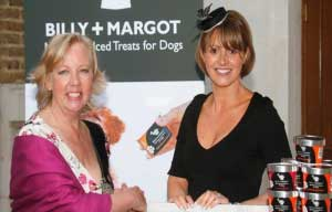 Deborah Meadon with Marie from Billy Margot