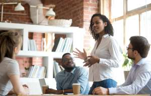 How to lead as a woman in a male dominated environment