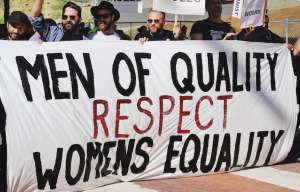 Men of quality respects Womens equality