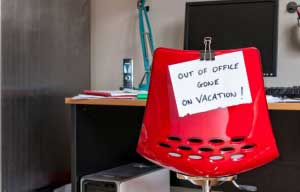 out of office creative thinking personal brand