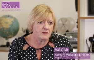 Val Risk Fujitsu everywoman role models