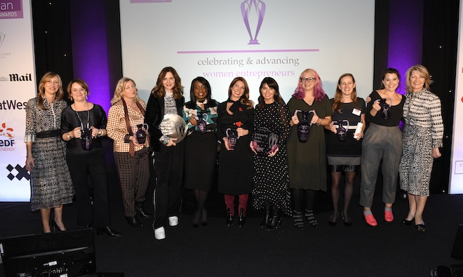 2018 natwest business everywoman in awards winners